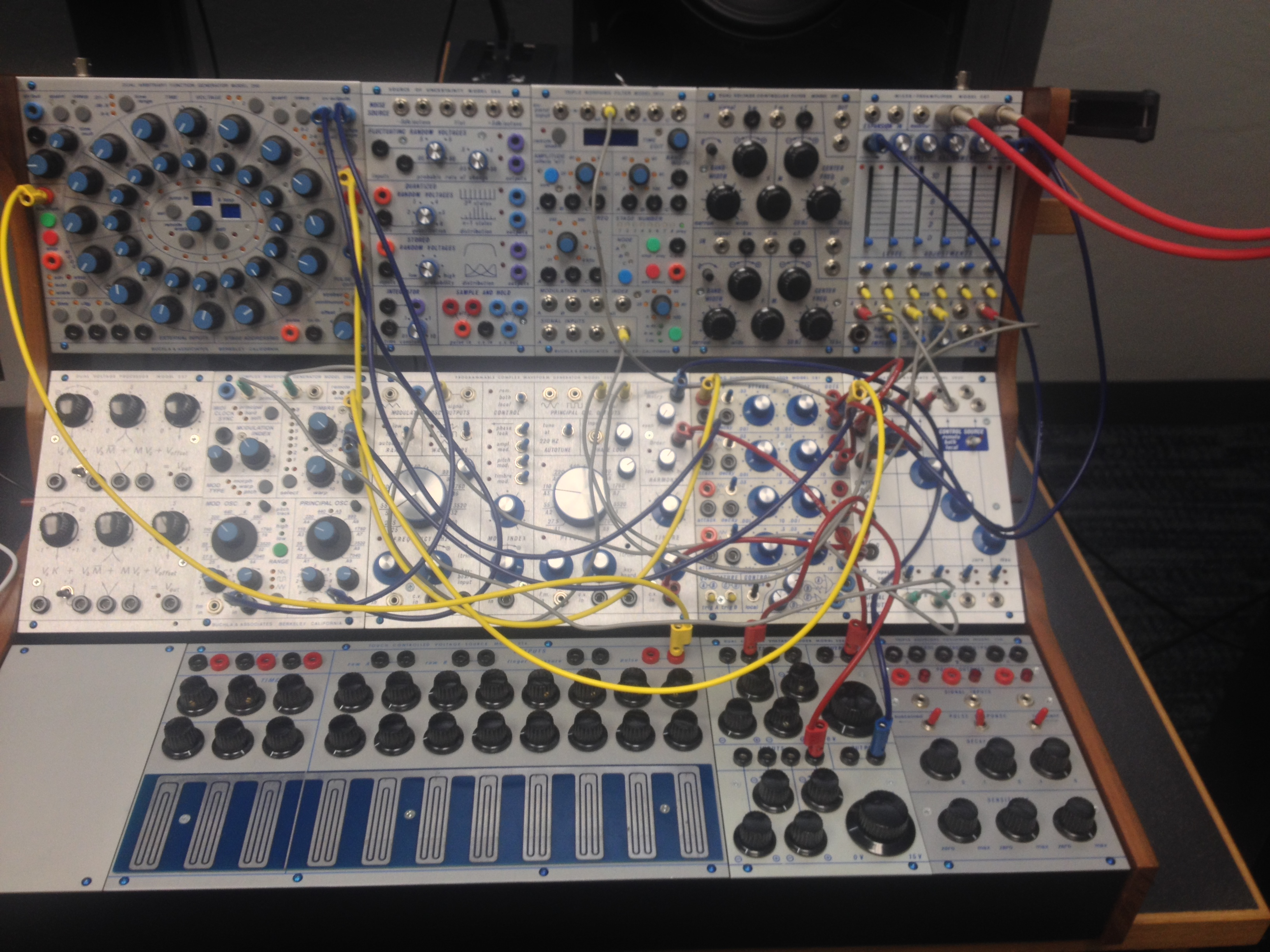 Buchlidian Landscape No2 The Music Of Kevin Swenson Recording Studio Wiring Buchla Patch For No 2